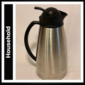 Stainless Steele Thermal Insulated Beverage Carafe